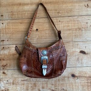 American West western style shoulder purse